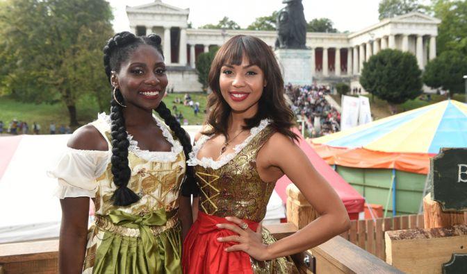 Es sind die Tänzerin Nikeata Thompson (l.) und die
