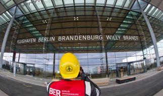 Neue Panne am Flughafen Berlin-Brandenburg Willy Brandt (BER): Die Statik eines Daches ist nicht sicher. (Foto)