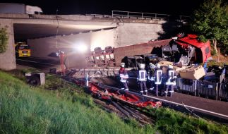 Warum der Lkw-Fahrer von der Fahrbahn abkam, ist noch unklar. (Foto)