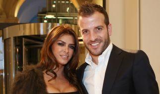 Hier noch glücklich vereint: Sabia Boulahrouz und Rafael van der Vaart. (Foto)