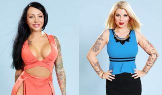 """Diese Sexbomben ziehen in den """"Big Brother""""-Container: Lusy (l) und Sharon (r). Na wenn es da mal keinen Zickenzoff gibt! (Foto)"""