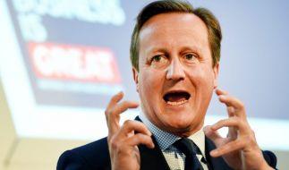 David Cameron hatte angeblich Oralverkehr mit einem toten Schwein. (Foto)