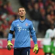 "Manuel Neuer sagt: ""Danke, du Pfosten!"" (Foto)"