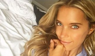 Sylvie Meis verführt auch privat mit ihrem sexy Blick. (Foto)