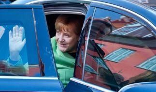 Das Thema Flüchtlinge verändert die politische Stimmung in Deutschland - und lässt die Umfragewerte von Merkel einbrechen. (Foto)