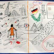 Syrisches Flüchtlingskind schenkt Polizei schockierendes Bild (Foto)