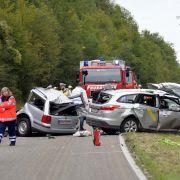 Frontal-Crash! Alle Insassen tot (Foto)