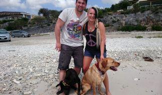 Patrick und Severine Dewitz auf Curacao. (Foto)