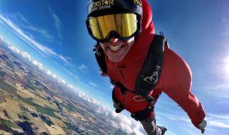 Erik Roner starb bei einem Extrem-Fallschirmsprung. (Foto)