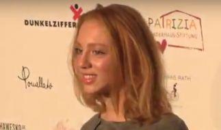 Anna Ermakova auf dem roten Teppich der Light & Stars Gala. (Foto)