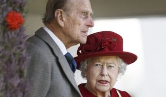 Queen Elizabeth II. und ihr Ehemann Prinz Philip. (Foto)