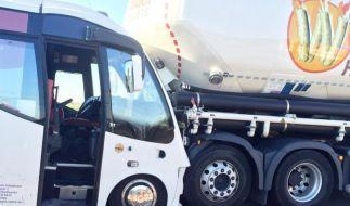 Bei dem Unfall auf der A 3 bei Wiesbaden sind mehr als 20 Menschen verletzt worden. (Foto)