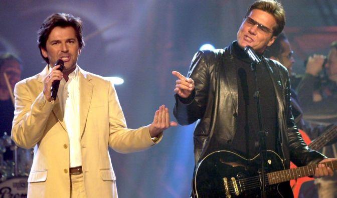 Das Comeback von Modern Talking im Jahre 2002 war modisch gesehen ein echter Reinfall!