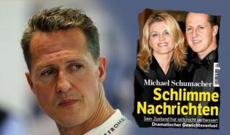 Es gibt keine neuen Informationen über Michael Schumachers aktuellen Zustand. (Foto)