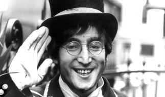 John Lennon wurde am 8. Dezember 1980 in New York ermordet. (Foto)