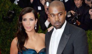 Sind Kanye West und seine hochschwangere Ehefrau Kim Kardashian etwa kein Paar mehr? (Foto)
