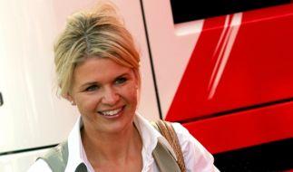 Corinna Schumacher bei einem Formel-1-Rennen in Monza. (Foto)
