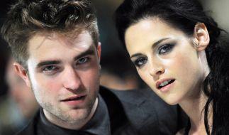 """Die Schauspieler Robert Pattinson und Kristen Stewart sind die Stars der """"Twilight""""-Verfilmungen. (Foto)"""