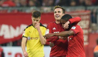 Mario Götze gegen seinen Ex-Club BVB (Foto)