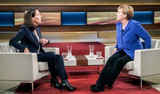 Merkel bei Anne Will zu Gast. (Foto)