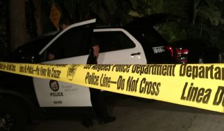 Die Polizei von Los Angeles macht in einer Wohnung im Stadtteil Hollywood eine schockierende Entdeckung. (Foto)