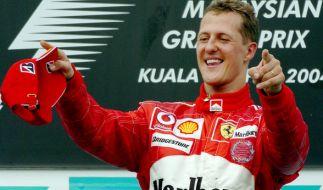 Vor 15 Jahren holte Michael Schumacher den ersten WM-Titel für Ferrari. (Foto)