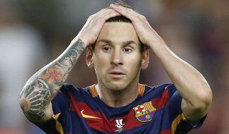 Muss Lionel Messi bald in Haft? (Foto)