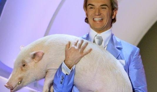 Florian Silbereisen kann man unterstellen: Der Kerl hat tatsächlich richtig Schwein gehabt. (Foto)