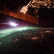 Astronaut Scott Kelly fotografiert Polarlichter (Foto)