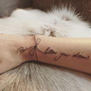 Seine Anna zeigt ihre Liebe mit einem neuen Tattoo (Foto)