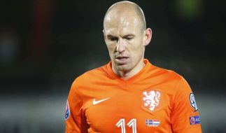 Arjen Robben ist bei der EURO 2016 nicht dabei. (Foto)