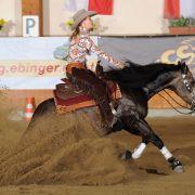 Finale! Schumis Tochter überzeugt beim Westernreiten (Foto)