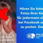 Polizei warnt vor Kinderfotos in Sozialen Netzwerken (Foto)