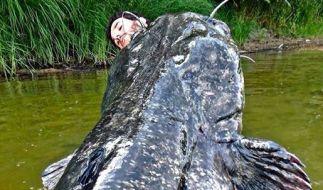 Der Franzose Charly Oh sorgte mit diesem Fang für große Augen bei Fischern aus aller Welt. (Foto)
