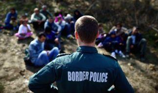 An der türkisch-bulgarischen Grenze hat ein Grenzwächter einen Flüchtling erschossen. (Foto)