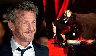 Läuft da etwa wieder was zwischen Sean Penn und Madonna? (Foto)
