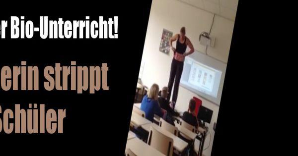 Heißer Bio-Unterricht: Lehrerin strippt für ihre Schüler