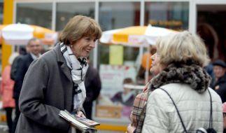 Die Oberbürgermeisterkandidatin Henriette Rekers ist am Samstag bei einer Messerattacke verletzt worden. (Foto)