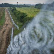Polizeigewerkschaft fordert Grenzzaun (Foto)