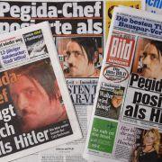 "Skandal-Akte Pegida: Hitler-Pose, ""Viehzeug"", Galgen-Attrappe (Foto)"
