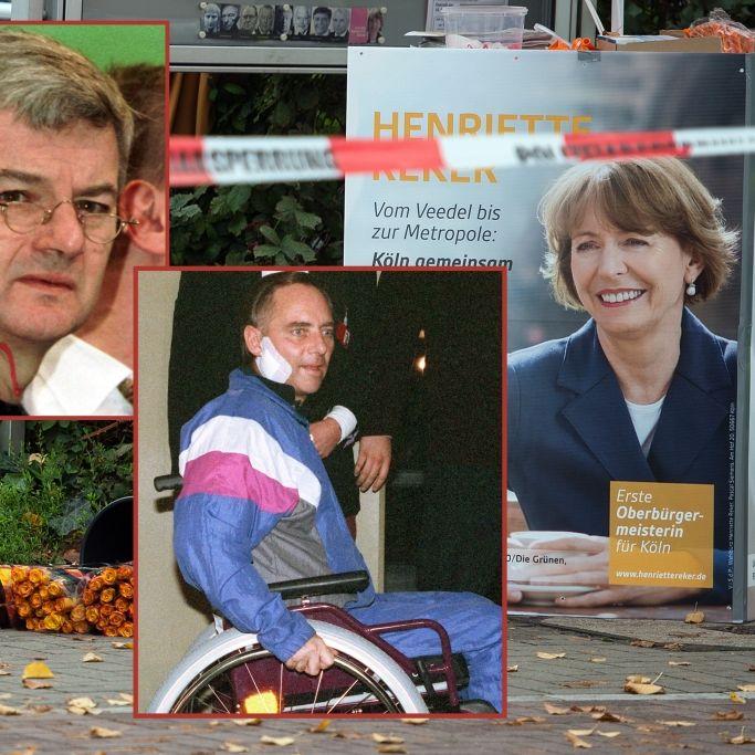 Heimtückisch! Die blutigsten Attentate auf deutsche Politiker (Foto)