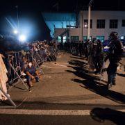 Kurz vor Wintereinbruch herrscht Chaos an den geschlossenen Grenzen (Foto)