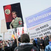 So war die Pegida-Demo in Dresden (Foto)