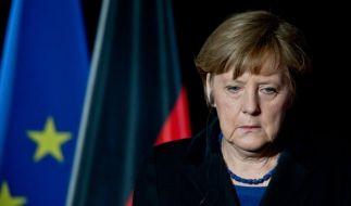 Angela Merkel besucht die Schule in Haltern. (Foto)
