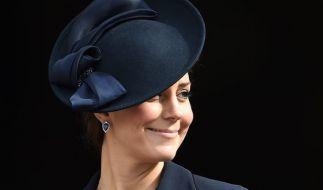Herzogin Kate steht ihr erstes Staatsbankett bevor. (Foto)