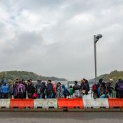 Flüchtlingskrise: 50 Prozent der Deutschen wollen Grenzzaun (Foto)