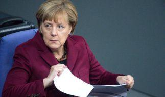 Angela Merkel erhielt von 215 Bürgermeistern aus NRW einen Hilferuf wegen der Flüchtlingskrise in ihren Kommunen. (Foto)