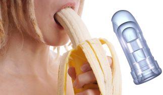 """Mit """"Virtual Blowjob"""" können Nutzer Oralverkehr mit einem Pornostar haben. (Foto)"""
