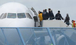 Abgelehnte Asylbewerber sollen schneller abgeschoben werden. (Foto)