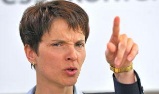 """Musste sich bei Maybrit Illner als """"Brandstifterin"""" bezeichnen lassen: Frauke Petry. (Foto)"""